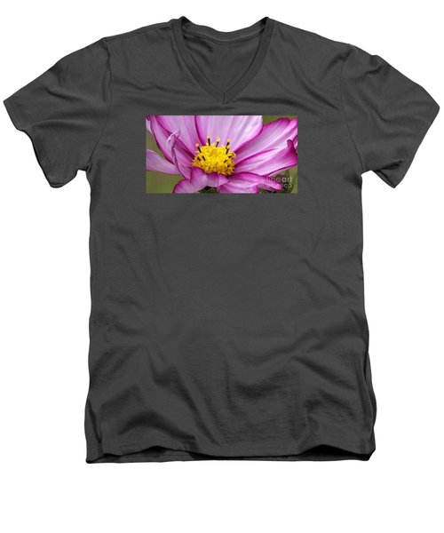 Flowers For The Wall Men's V-Neck T-Shirt by Eunice Miller