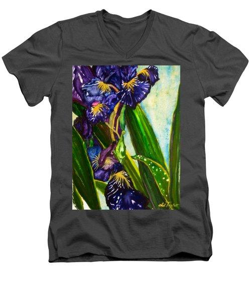 Flowers In Your Hair II Men's V-Neck T-Shirt