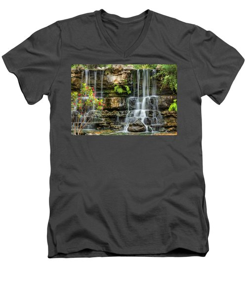 Flowing Falls Men's V-Neck T-Shirt