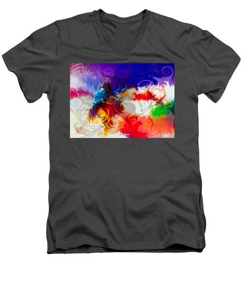 Fly With Me Men's V-Neck T-Shirt