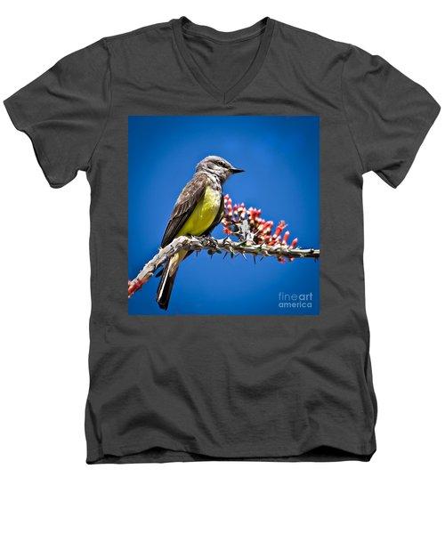 Flycatcher Men's V-Neck T-Shirt
