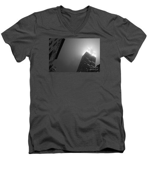 Foggy Empire Men's V-Neck T-Shirt