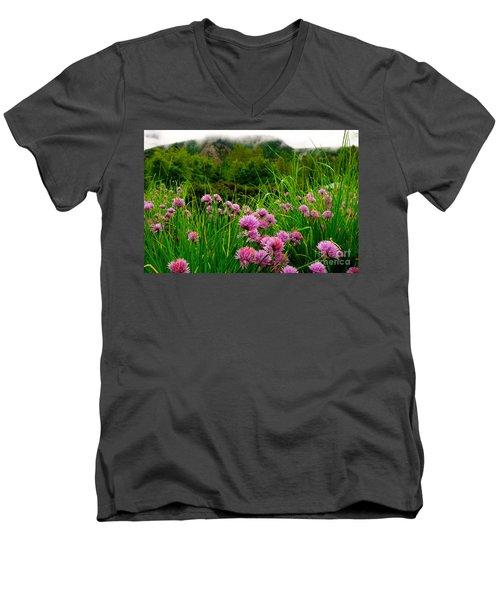 Foggy Morning Men's V-Neck T-Shirt
