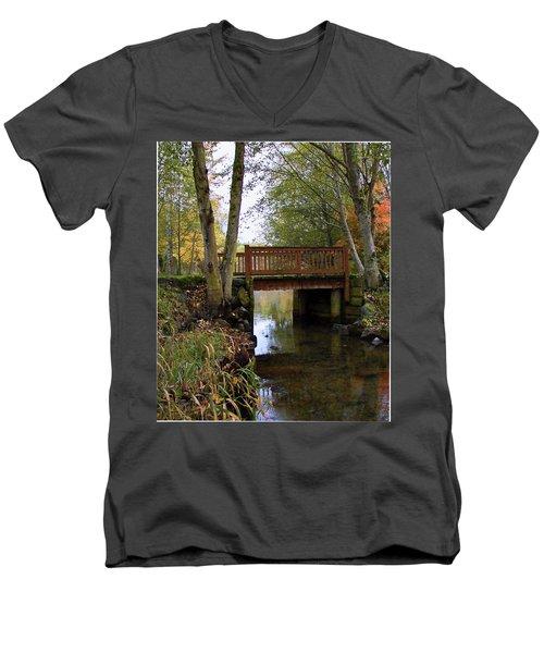 Foot Bridge Men's V-Neck T-Shirt