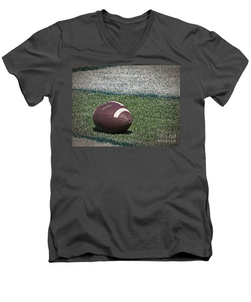 An American Football Men's V-Neck T-Shirt