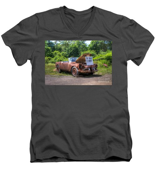 For Sale By Owner Men's V-Neck T-Shirt