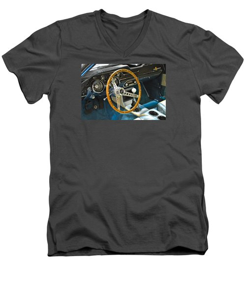 Ford Mustang Shelby Men's V-Neck T-Shirt