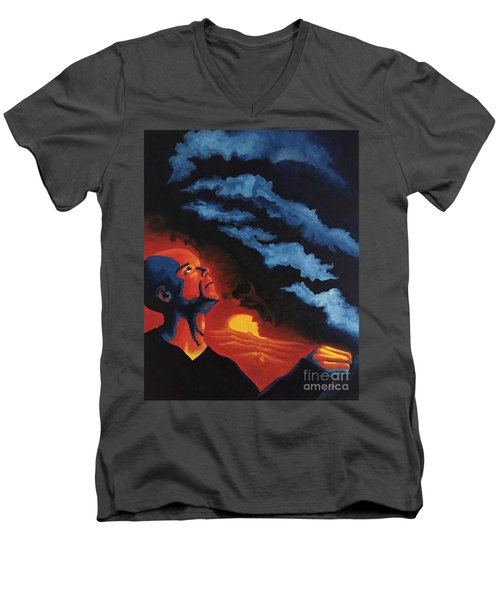 Foreseen Men's V-Neck T-Shirt
