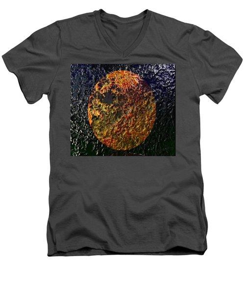 Forest Fireball Men's V-Neck T-Shirt