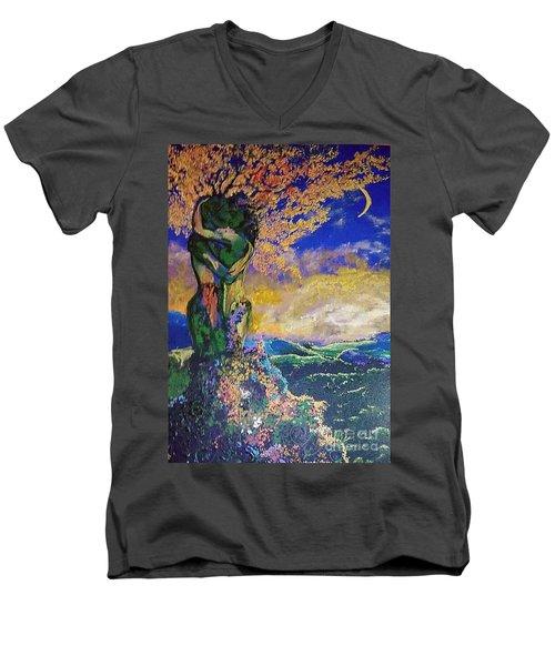 Forever Embracing Men's V-Neck T-Shirt