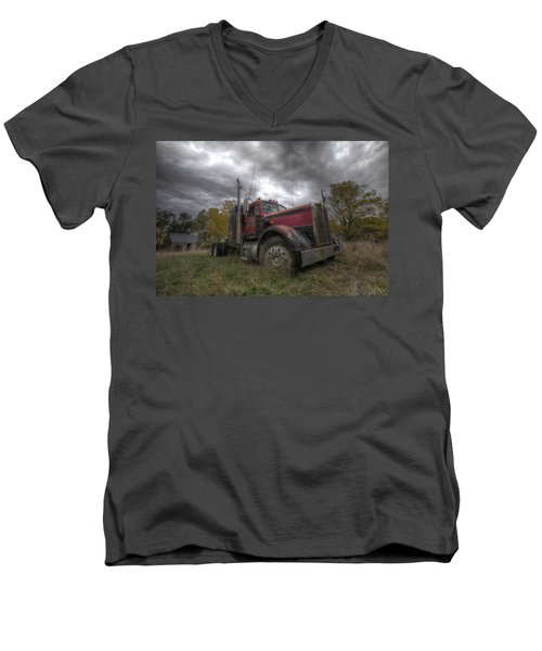 Forgotten Big Rig 2014 V2 Men's V-Neck T-Shirt