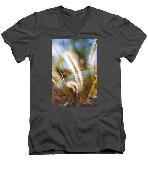 Fountain Grass Men's V-Neck T-Shirt