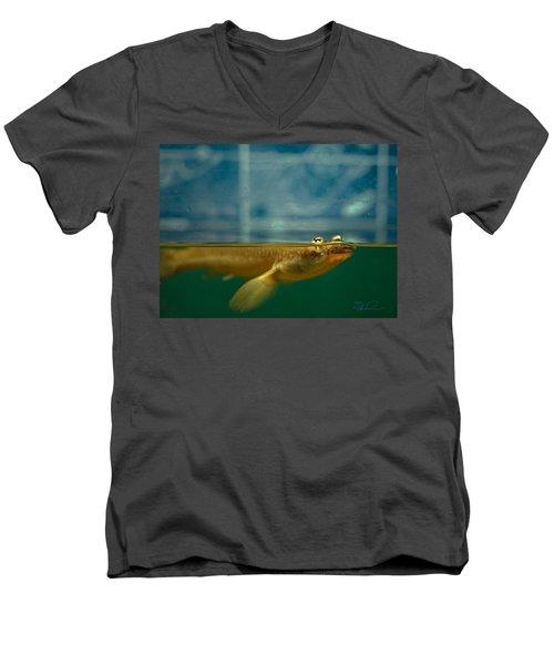 Four Eyes Men's V-Neck T-Shirt