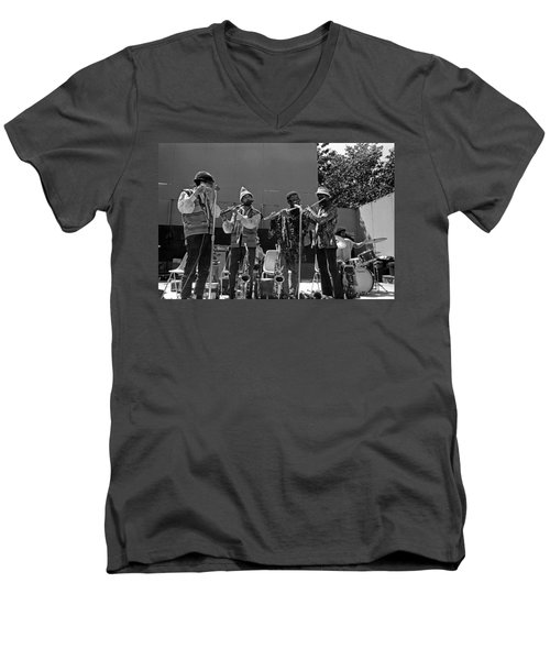 Four Flutes 2 Men's V-Neck T-Shirt