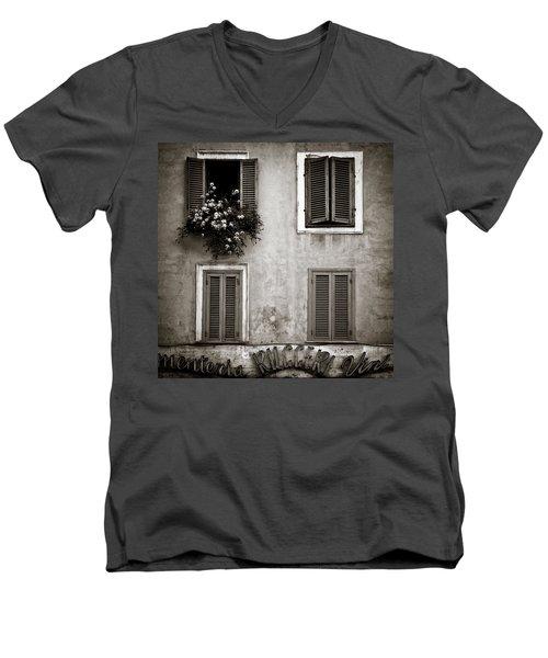 Four Windows Men's V-Neck T-Shirt