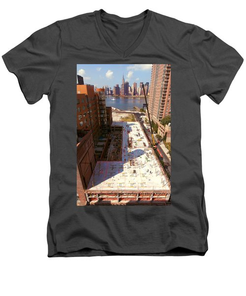 Fourth Floor Slab Men's V-Neck T-Shirt
