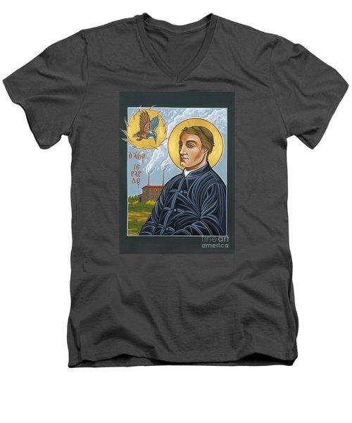 Fr. Gerard Manley Hopkins The Poet's Poet 144 Men's V-Neck T-Shirt