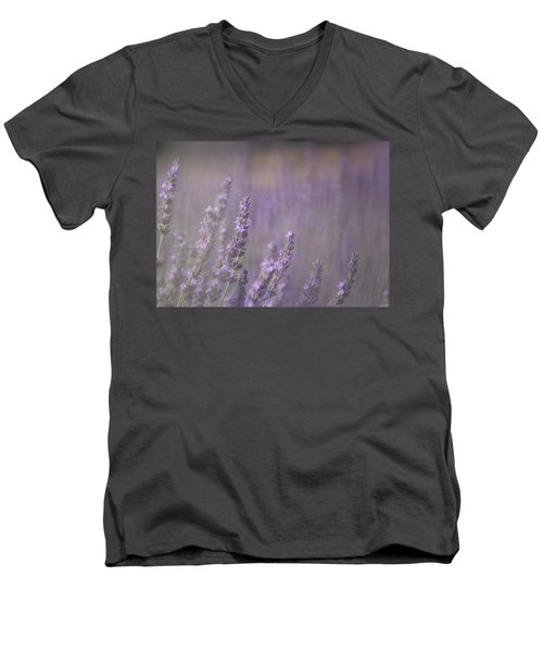 Men's V-Neck T-Shirt featuring the photograph Fragrance by Lynn Sprowl