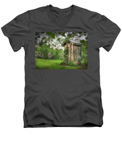 Fragrant Outhouse Men's V-Neck T-Shirt