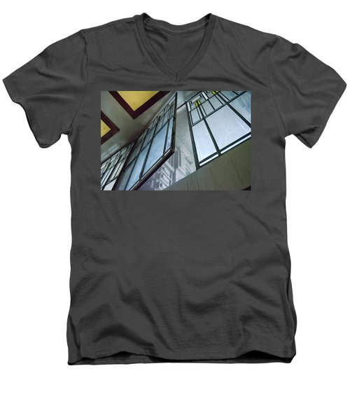 Frank Lloyd Wright's Open Window Men's V-Neck T-Shirt