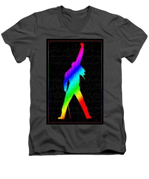 Freddie Mercury 2 Men's V-Neck T-Shirt