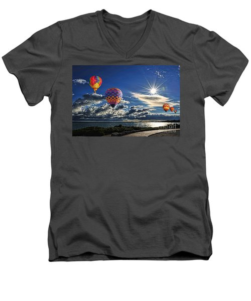Free As A Bird Men's V-Neck T-Shirt