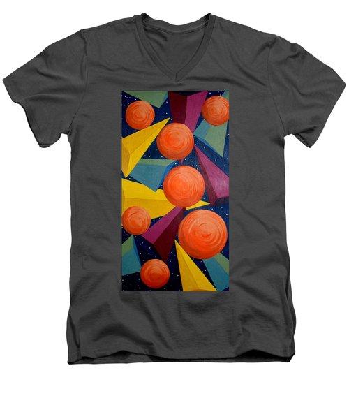 Free Falling Men's V-Neck T-Shirt