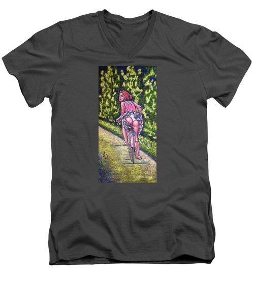 Free Men's V-Neck T-Shirt