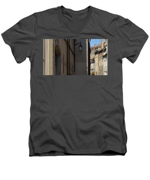 French Terraces Men's V-Neck T-Shirt