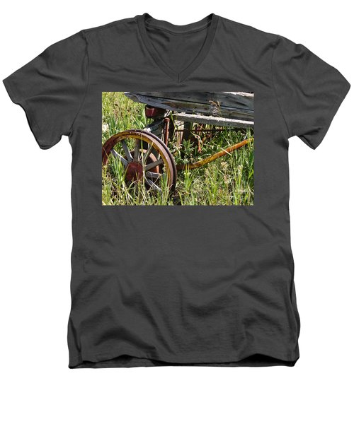 From Rust To Grass Men's V-Neck T-Shirt
