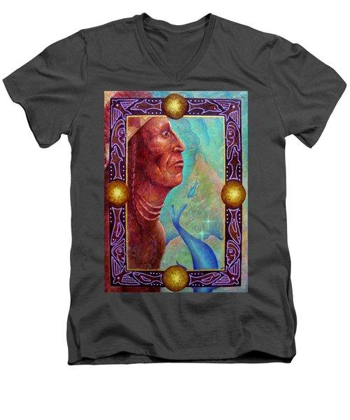 From The Depths Men's V-Neck T-Shirt