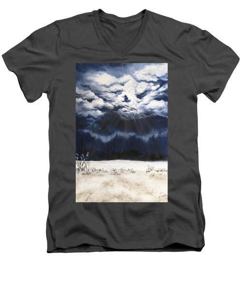 From The Midnight Sky Men's V-Neck T-Shirt