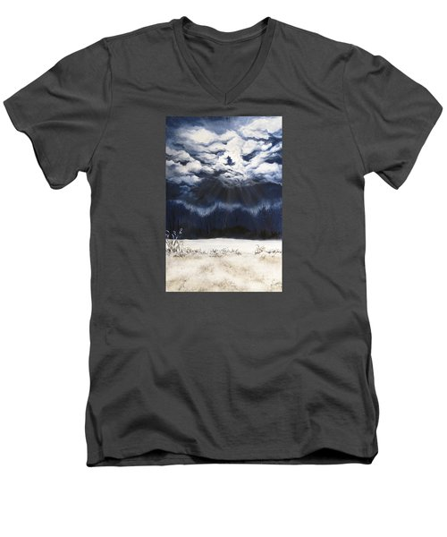 From The Midnight Sky Men's V-Neck T-Shirt
