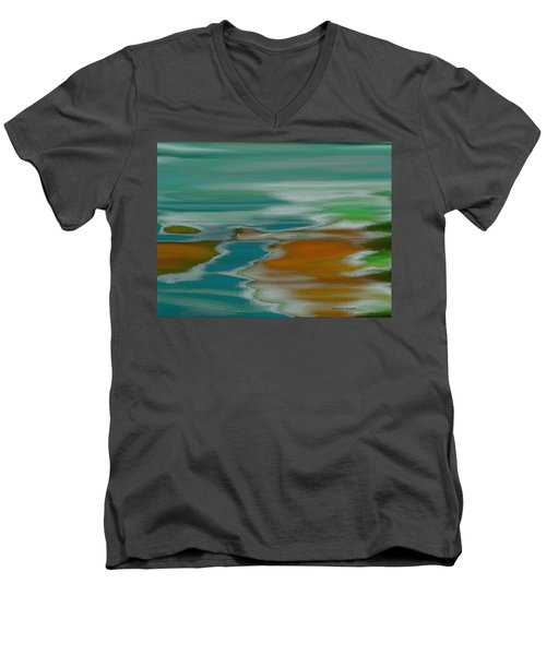 From The River To The Sea Men's V-Neck T-Shirt