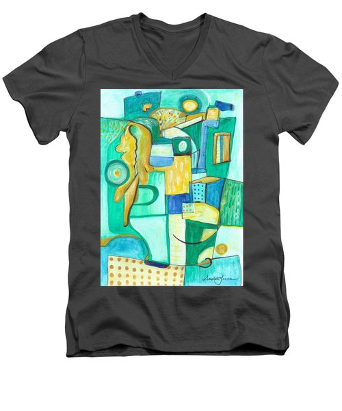 From Within 9 Men's V-Neck T-Shirt
