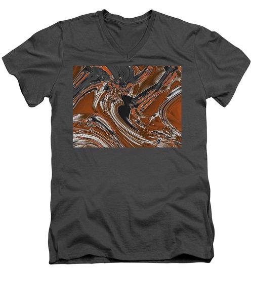 Frost And Woodsmoke  Men's V-Neck T-Shirt