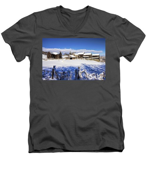 Frozen In Time One  Men's V-Neck T-Shirt