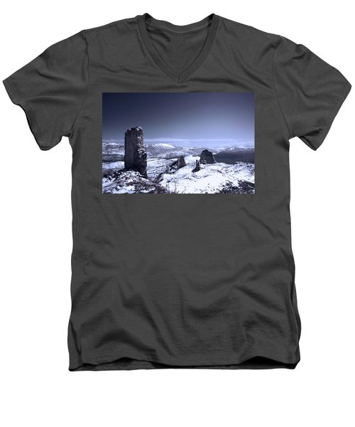 Frozen Landscape Men's V-Neck T-Shirt