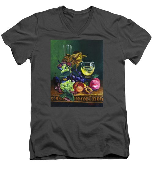 Fruit And Wine Men's V-Neck T-Shirt