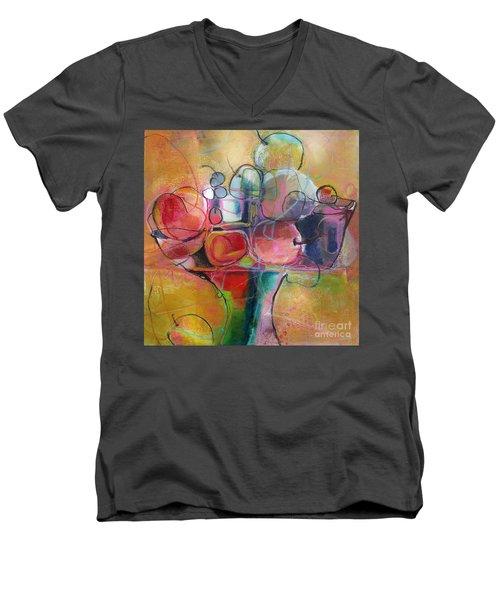 Fruit Bowl No.1 Men's V-Neck T-Shirt