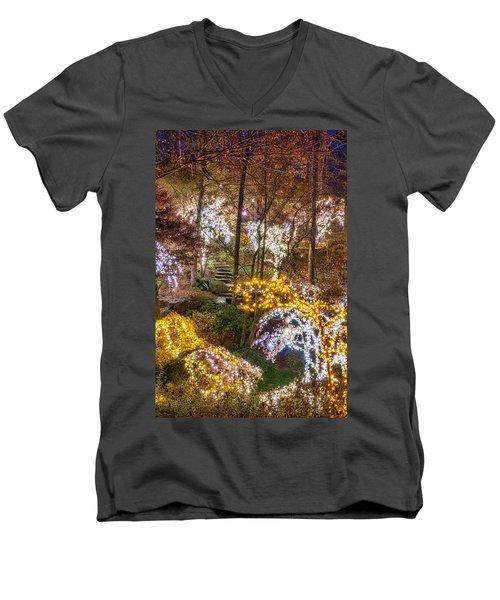 Golden Valley - Full Height Men's V-Neck T-Shirt
