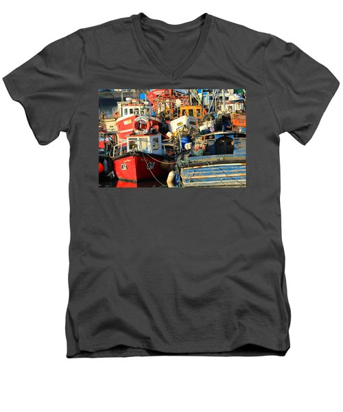 Full Harbour Men's V-Neck T-Shirt