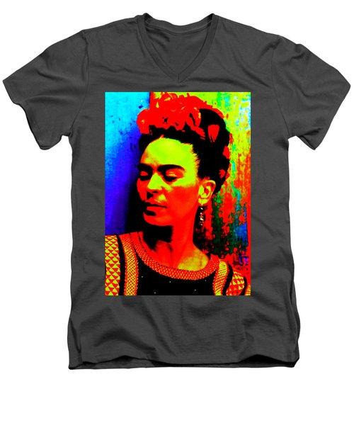 Funky Frida Men's V-Neck T-Shirt