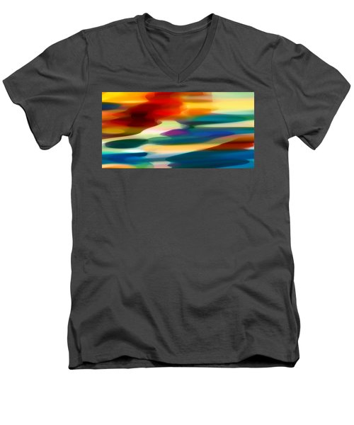 Fury Seascape Men's V-Neck T-Shirt