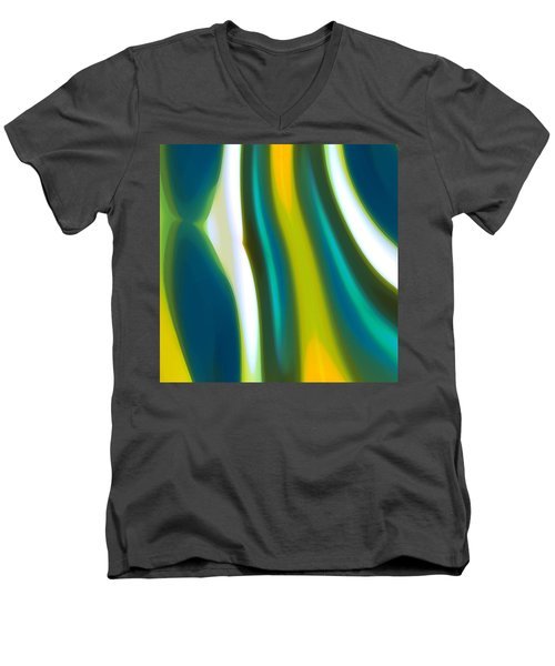 Abstract Tide 9 Men's V-Neck T-Shirt