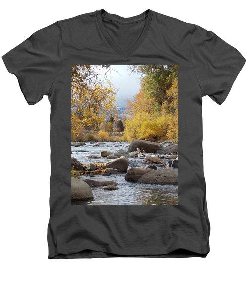 Future  Men's V-Neck T-Shirt