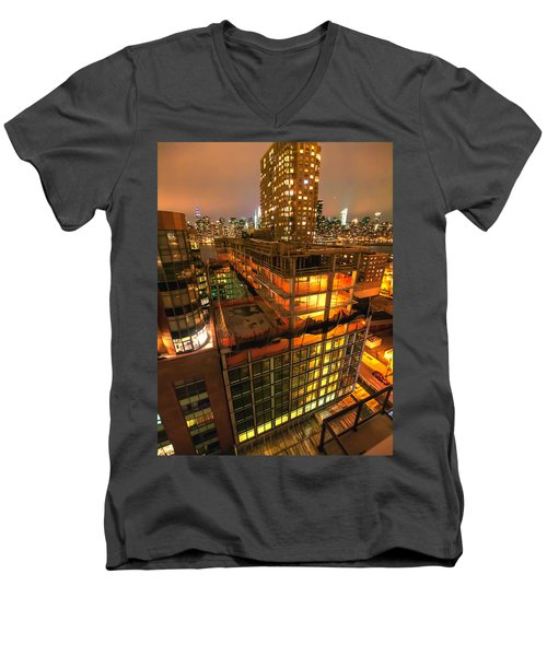 Future Views Men's V-Neck T-Shirt