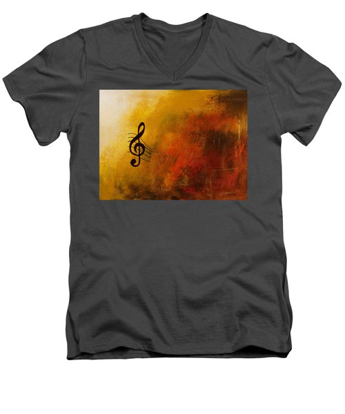 G Symphony Men's V-Neck T-Shirt