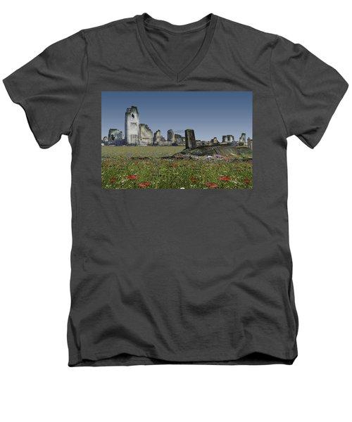 Gaias Children Men's V-Neck T-Shirt