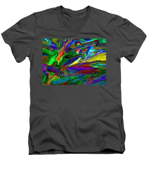 Galactic Storm Men's V-Neck T-Shirt
